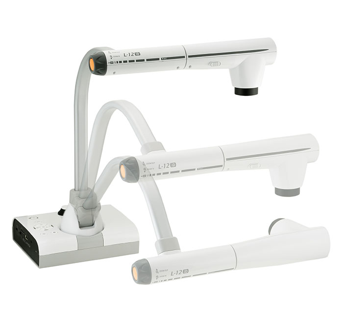 ELMO L-12iD document camera, for primary school, secondary school, junior high school and high school