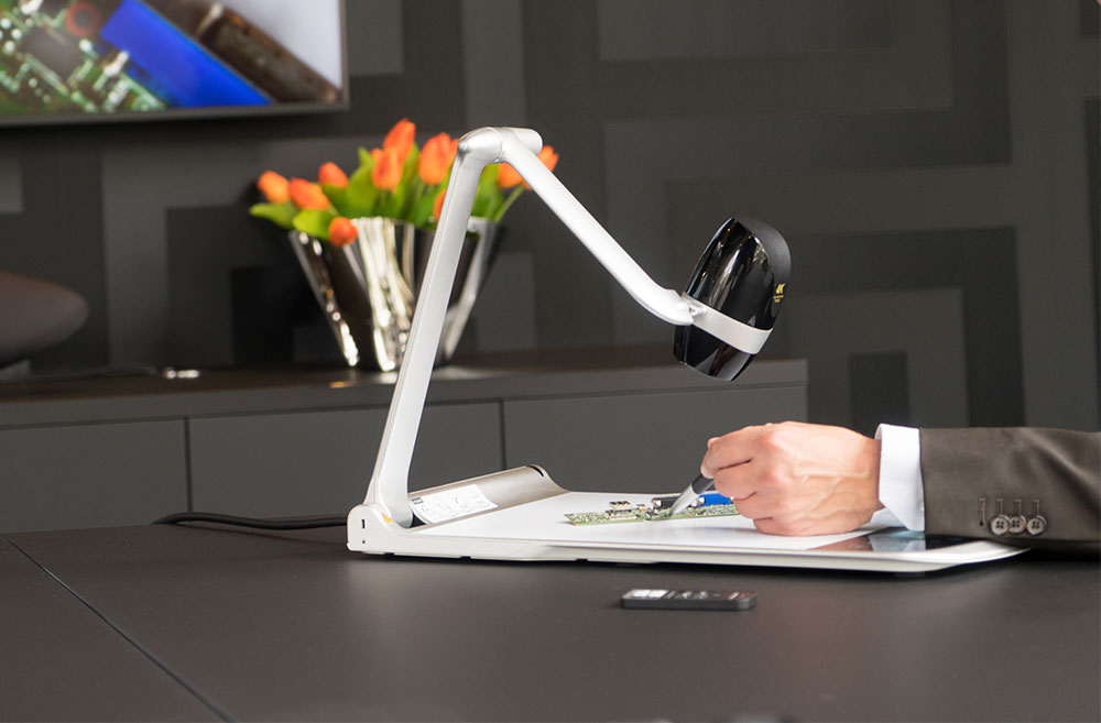 ELMO PX-30 the high end document camera with 4K resolution.